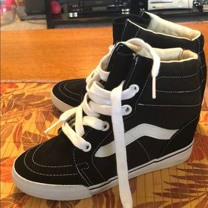 Van wedge sneakers